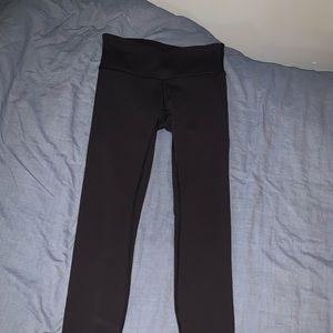 black full length wunder unders